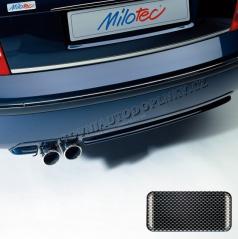 Difuzor s dvojitou koncovkou výfuku - ABS karbon, Škoda Superb