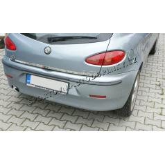 Alfa Romeo 147 3D / 5D - nerez chrom lišta kufru spodní  - OMSA LINE