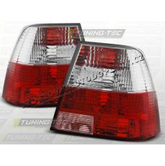 VW BORA 1998-05 ZADNÍ LAMPY RED WHITE (LTVW64)