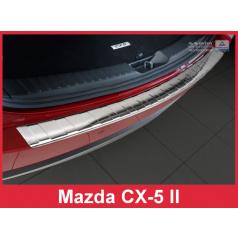 Nerez kryt-ochrana prahu zadního nárazníku Mazda CX-5 II 2017
