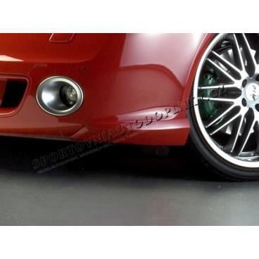 BODY-KIT RS přední rozšíření nárazníku, ABS-černý, Škoda Octavia II RS