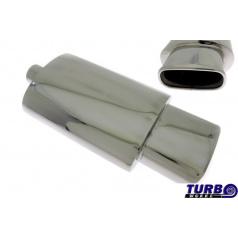 Sportovní výfuk TurboWorks oválná koncovka 3