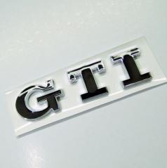 Znak GTI samolepící pro koncernové vozy VW  černý