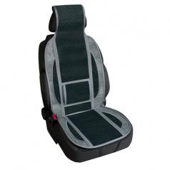 Bambusový potah na sedadlo černý