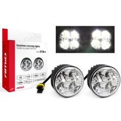 Světla denního svícení DRL 510HP 70 mm 2x4 SMD LED
