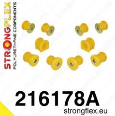Lexus SC300 StrongFlex Sport sestava silentbloků jen pro přední nápravu 10 ks