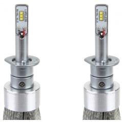 Extra silné led žárovky H1 CAN BUS do hlavních světlometů RS+ 2 ks