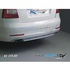 Difuzor zadního nárazníku - pro lak Škoda Octavia II facelift sedan/combi