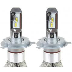 Extra silné led žárovky H4 CAN BUS do hlavních světlometů RS+ 2 ks
