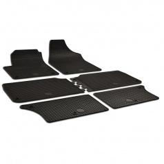 Gumové koberce-pryžové autokoberce, Seat ALHAMBRA, 1996-2009, 6 ds