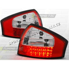 AUDI A6 (C5) SEDAN 1997-04 ZADNÍ LED LAMPY RED WHITE (LDAU13)