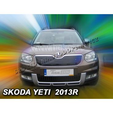 Zimní clona - kryt chladiče - Škoda Yeti, 5 dveř., 2013-, po faceliftu