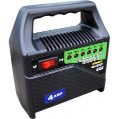 Nabíječka autobaterií-6-12V 4A-led indikace-přenosná