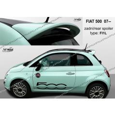 Fiat 500 htb 2007+ zadní spoiler (EU homologace)