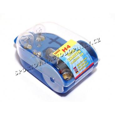 Žárovky náhradní servisní box univerzální H4