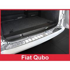 Nerez kryt- ochrana prahu zadního nárazníku Fiat Qubo 2007-16