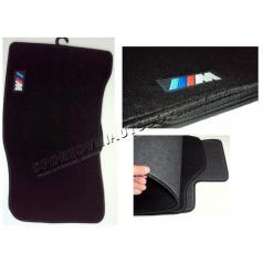 BMW E60 luxusní sportovní textilní koberce s logem M