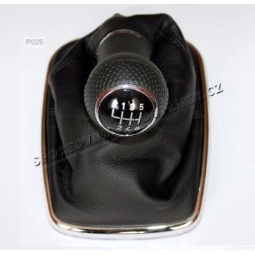 Kompletní řadící páka VW Golf IV 1,8/1,9 TDI/2,0 - 6 st., chrom rámeček