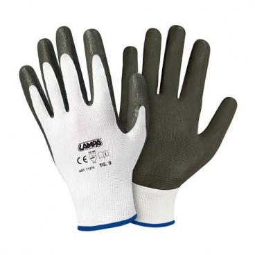 Pracovní rukavice s nitrilovým povlakem dlaně