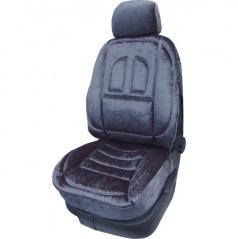 Autopotahy Profil - Škoda Octavia II - dělená zadní sedačka a zadní loketní opěrka - tmavě stříbrné