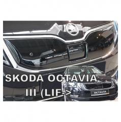 Zimní clona - kryt chladiče horní - Škoda Octavia III, 2016- , po faceliftu
