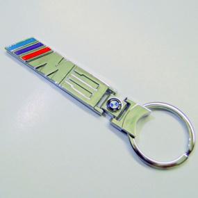Klíčenka - přívěšek na klíče BMW M3 chrom