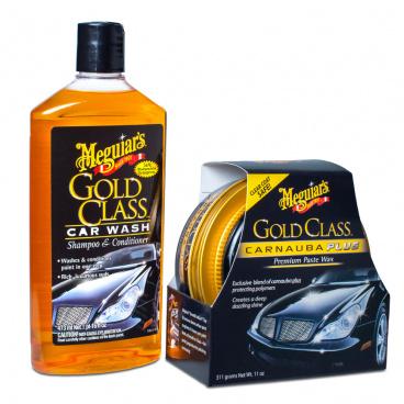 Meguiar's Gold Class Wash & Wax Kit  exklusivní sada autokosmetiky pro mytí a ochranu laku
