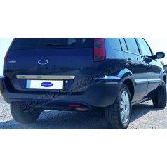 Ford Fusion 03-09 - nerez chróm lišta nad ŠPZ - Omsa Line
