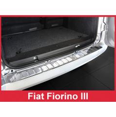 Nerez kryt- ochrana prahu zadního nárazníku Fiat Fiorino III 2007+