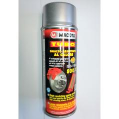 Žáruvzdorná barva sprej Macota 400 ml do 800 C stříbrná (brzdy motor, výfuk)