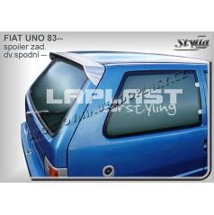 FIAT UNO  (83-89) spoiler zad. dveří horní (EU homologace)