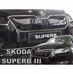 Zimní clona - kryt chladiče horní - Škoda Superb III, 2015 -