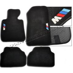 BMW E92/93 Coupe luxusní sportovní textilní autokoberce se znakem M-Power