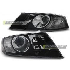 Škoda Octavia 2004-2008 přední čirá světla black (LPSK15)