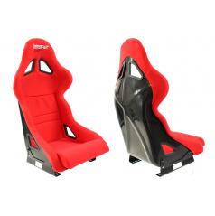 Sportovní pevná skořepina Bimarco Expert II červená FIA homologace
