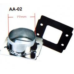 Univerzální redukce sportovního sání průměr 76 mm AA02