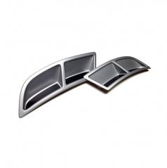 Škoda Superb III - spoilery zadního difuzoru alu
