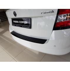Ochranný panel zadního nárazníku glossy black Škoda Fabia III Combi