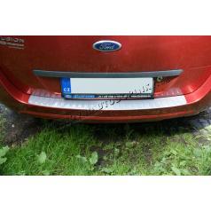 Ochranný práh zadního nárazníku Ford Fusion -KI-R- SILVER METALLIC