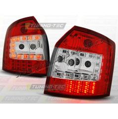 AUDI A4 (B6) AVANT 2000-04 ZADNÍ LED LAMPY RED WHITE (LDAU34)