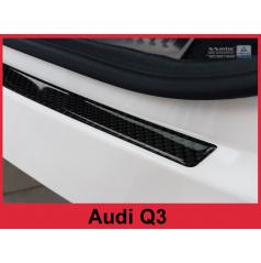 Carbon kryt- ochrana prahu zadního nárazníku Audi Q3 2011+