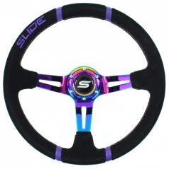 Sportovní volant WRC TITAN 350 mm semiš