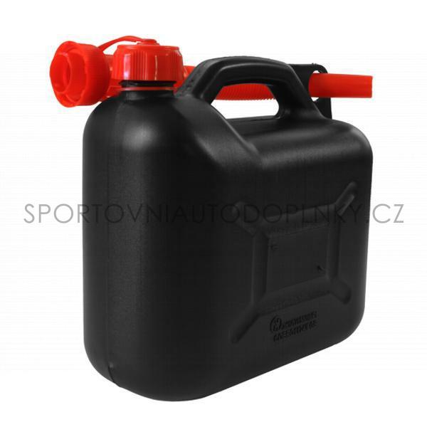 Plastový kanister na benzín 10 l