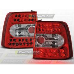 VW PASSAT B5(3B) 1996-00 ZADNÍ LED LAMPY RED WHITE (LDVW20)