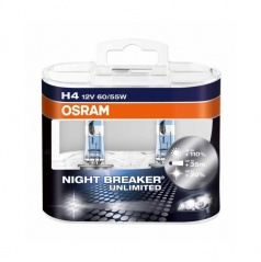 Žárovka Osram Night Breaker Unlimited H4 12V/55W (sada 2 ks)