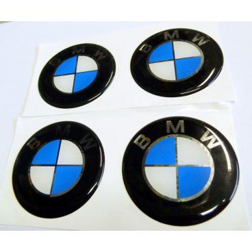 Znak BMW průměr 55 mm, 4 ks