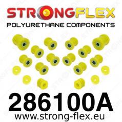 Nissan Sunny StrongFlex Sport sestava silentbloků jen pro zadní nápravu 15 ks