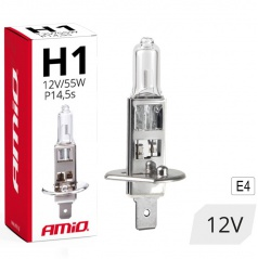 Halogenová žárovka H1 12V 55W filtr UV (E4) 1 ks