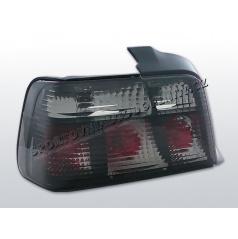 BMW E36 90-99 ZADNÍ KRYSTALICKÉ LAMPY SMOKE (LTBM37) - sedan
