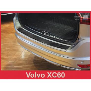 Carbon kryt- ochrana prahu zadního nárazníku Volvo XC60 2013-17